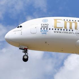 A380 na přiblížení