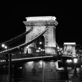 Budapešť - řetězový most