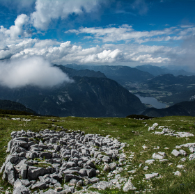 Pohled z Krippensteinu