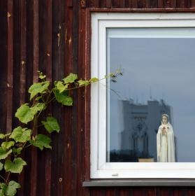 Zátiší s oknem