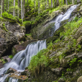 vodopády Rissloch III