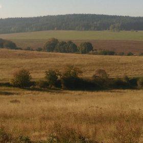 Podzimní krajina u Biskoupek
