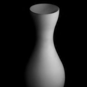 Váza ve tmě