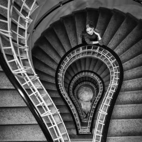 Kráska na schodech