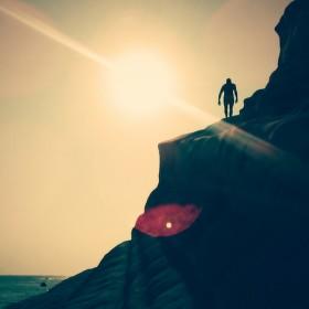 Na útesu
