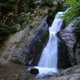 Rešovské vodopády.