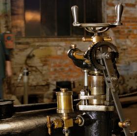 Industriální:část kompresoru-detail