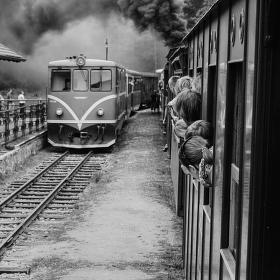 Parní železnice