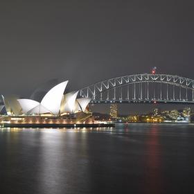 noční okouzlení v Sydney