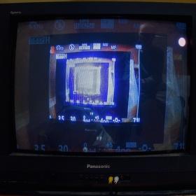 Super ultra HD 64K externí displej k foťáku