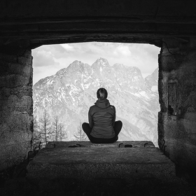 Alpine meditation