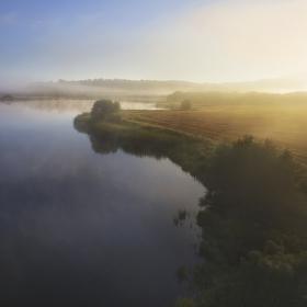 ráno na Novokrtském