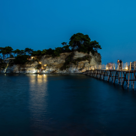 Noční Cameo Island.