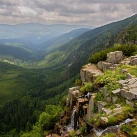 nad Pančavským vodopádem 2