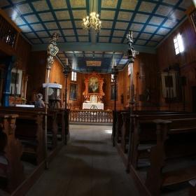 Skanzen - kostel 2