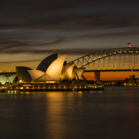 Opera House + Harbour Bridge
