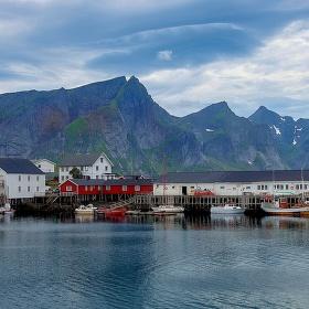 Barevné rybářské vesničky
