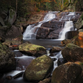 Vodopád na Černé Desné II