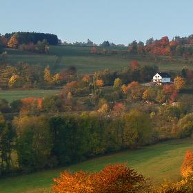 Podzimní ráno u nás
