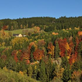 Šumava podzim