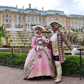 Petrodvorec - Velká kaskádová vodní třída.