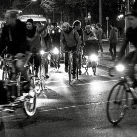 Berlínská noční cyklojízda