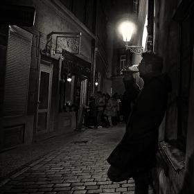 V uličce