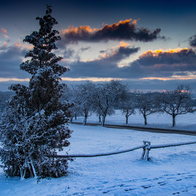 Valšsko po sněhem
