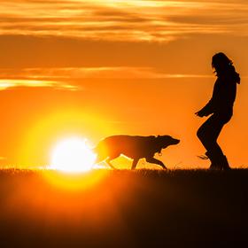 západ slunce :)