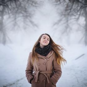 Ze zimní procházky.