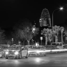 Night street life