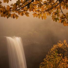 North Falls v podzimním světle