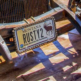 Hot rod - RUSTY