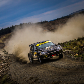 The winner of Pirelli rally 2017