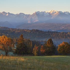 Tatranský hřeben od severu