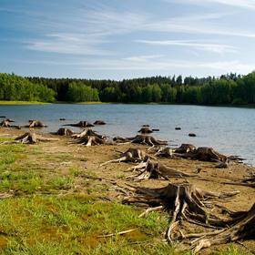 Novoříšská přehrada...