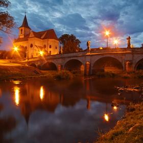 Barokní most Náměšť nad Oslavou