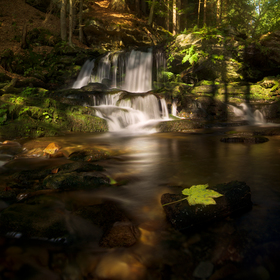 Skalní vodopád