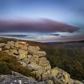 Vlaštovčí kameny při západu