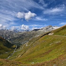 Alpské údolí