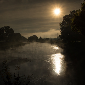 podzimní ráno