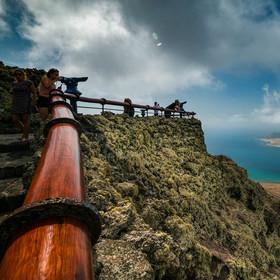 Fasinující Mirador del Rio , aneb na konci světa s vyhlídkou na La Graciosa