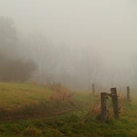 Mlha, že by se dala krájet