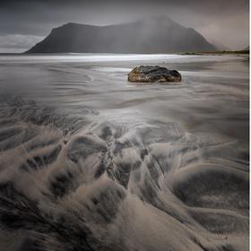 Skagsanden beach_Lofoty_Norsko