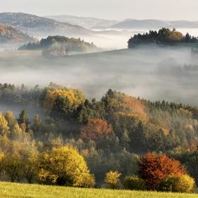 Podzimní barvy na Vysočině