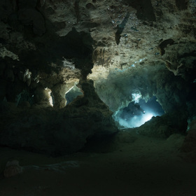 Tajuplné zákoutí jeskyně Chan Hol - upstream