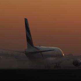 start při západu slunce