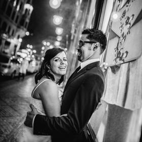 Na konci svatebního dne