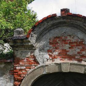 Suchdol nad Odrou, fara, brána do zahrady