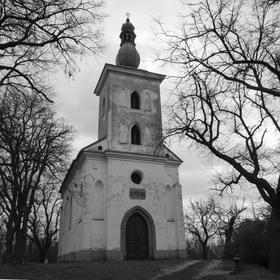 Poutní kostel sv.Jakuba u Ivančic